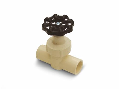 CPVC universal line valve (SL x SL)