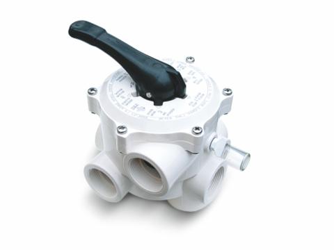6 - ways backwash - valve ABS