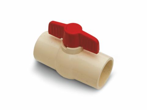 CPVC ball valve (SL x SL)